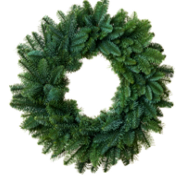 Plain Noble Fir Wreath